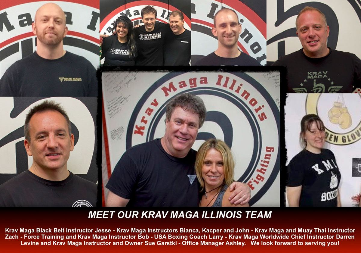 Krav Maga Illinois Instructors